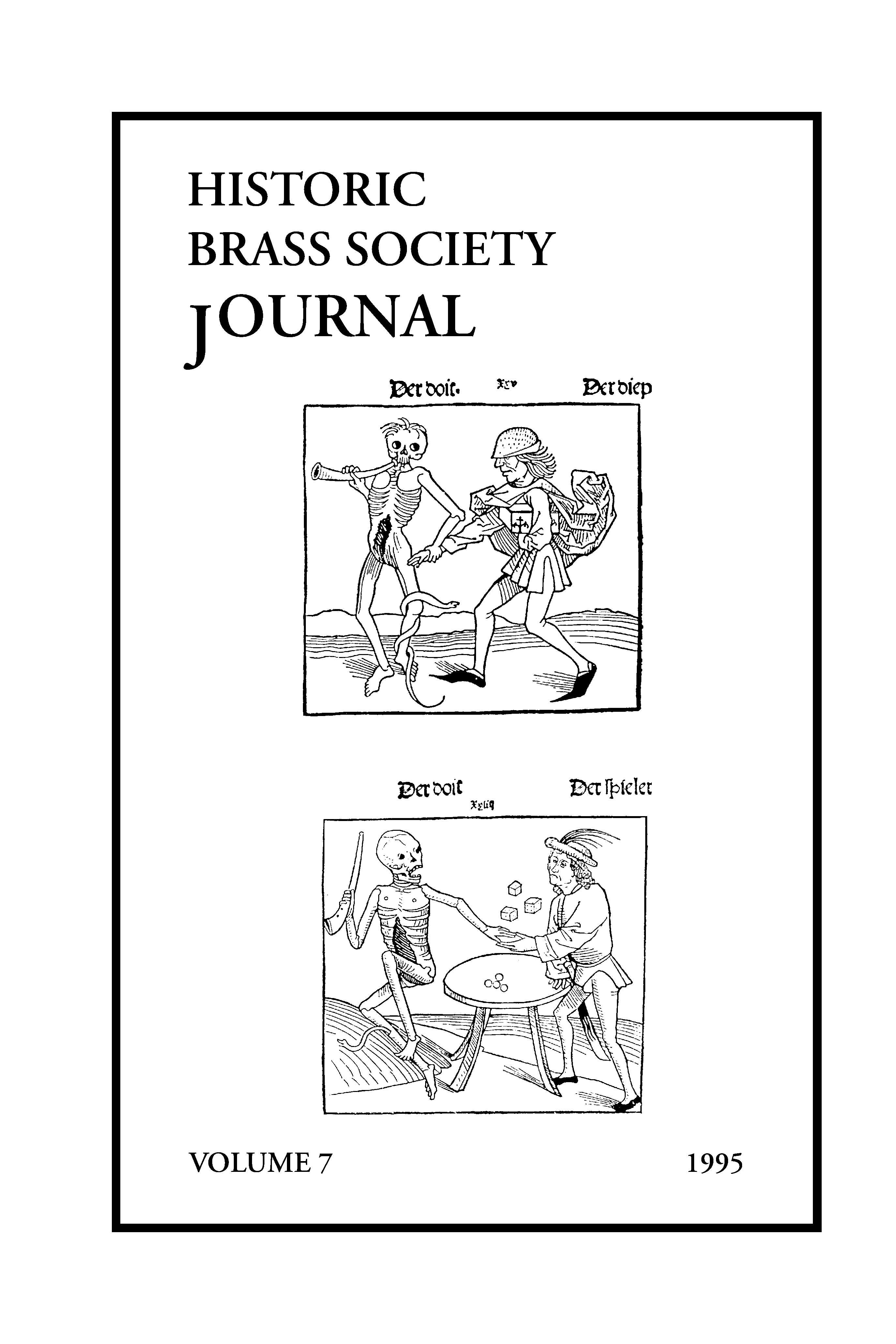 Historic Brass Journal - Volume 7 - 1995