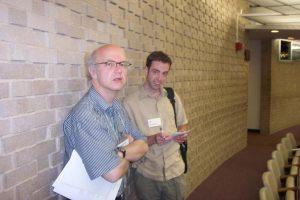 Dominick Sackmann (L) and Eric Brummett (R)