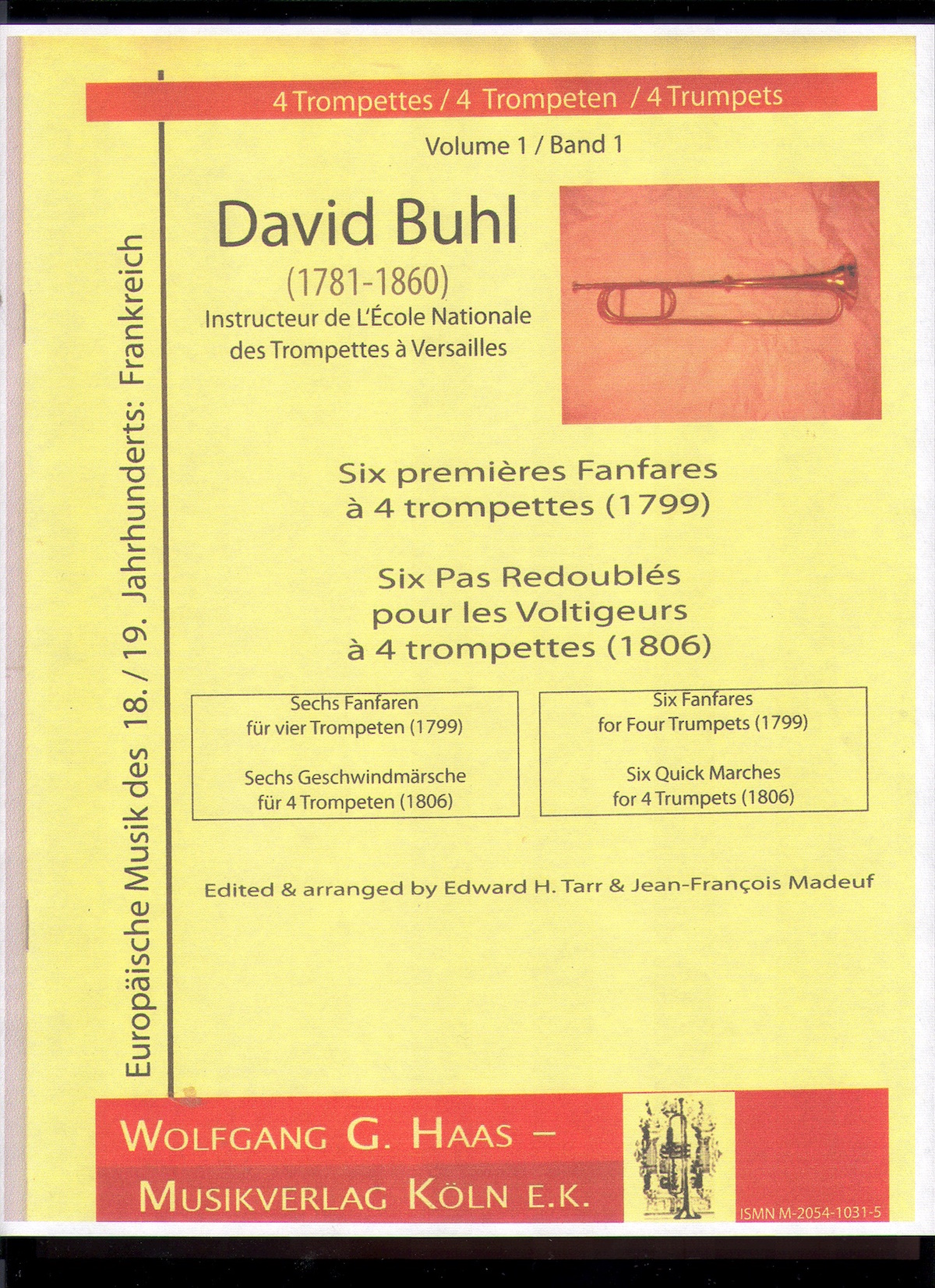 Trumpet Fanfares by Buhl and Others, Wolfgang Haas
