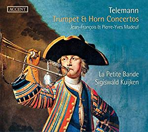 Telemann: Trumpet and Horn Concertos, played by Madeuf